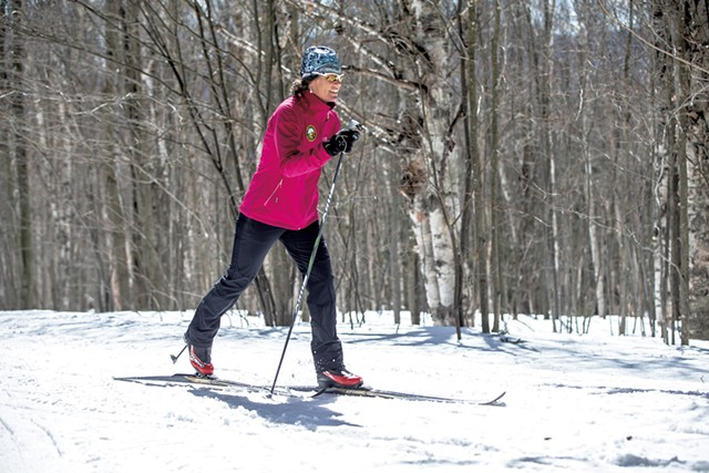 Cross-country skier - COURTESY OF TRAPP FAMILY LODGE
