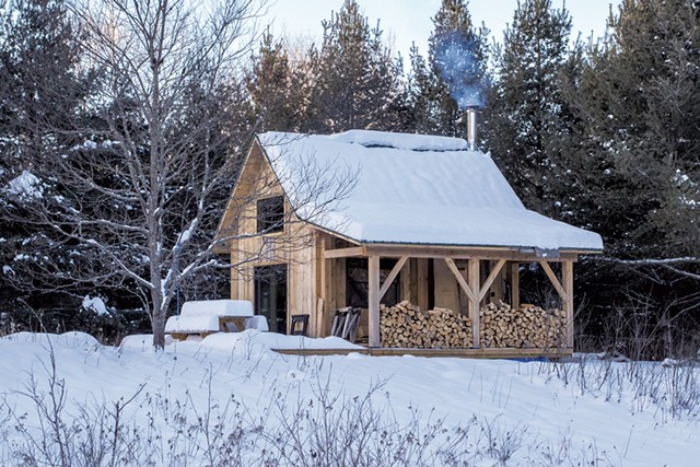 Nulhegan Confluence Cabin - COURTESY OF SEAN BECKETT