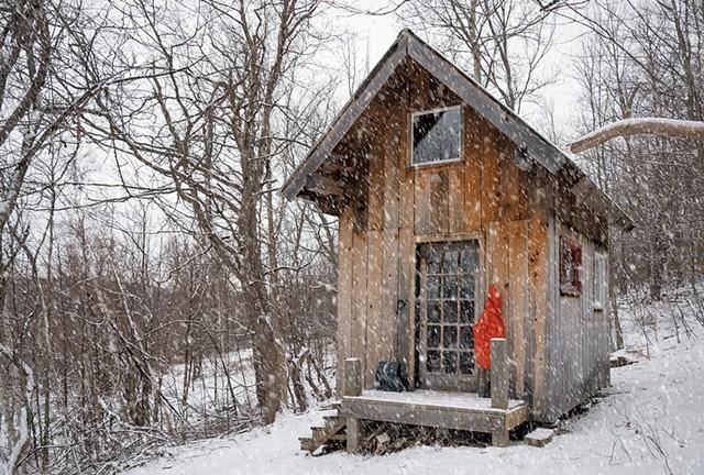 Triple Creek Cabin - COURTESY OF SAMANTHA VAN GERBIG
