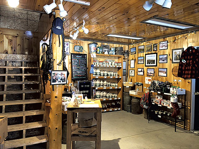 The shop at Branon Family Maple Orchards - JORDAN BARRY ©️ SEVEN DAYS