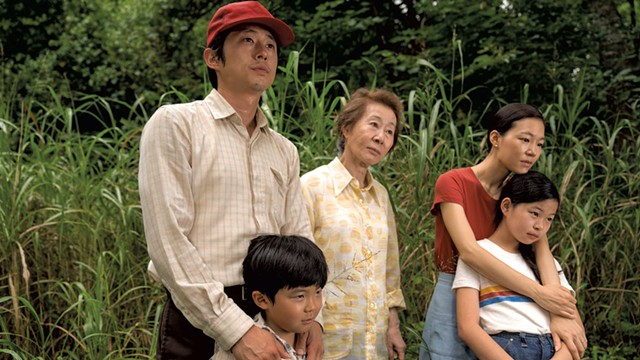PROMISED LAND A family tries to wring a living from a rural Arkansas farm in Chung's evocative autobiographical drama. - COURTESY OF A24/JOSH ETHAN JOHNSON