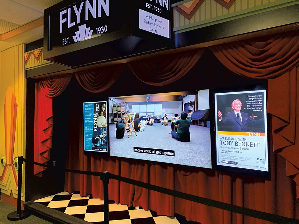 The Flynn display inside BTV - COURTESY PHOTO