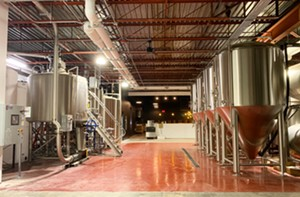 The new Four Quarters Brewing production area - COURTESY OF BRIAN ECKERT