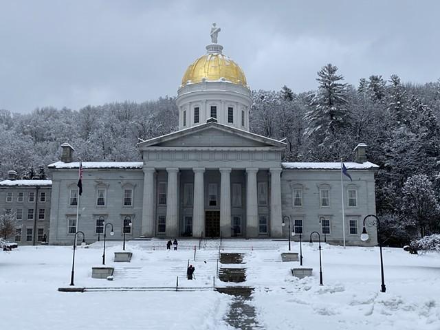 The Vermont Statehouse - MATTHEW ROY ©️ SEVEN DAYS