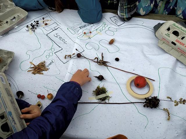 Mapping birds' feeding habitats - BRIDGET BUTLER
