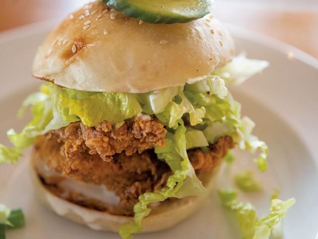 OG chicken sandwich - JAMES BUCK
