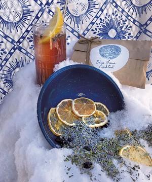 Arcana Botanica's Blue Luna cocktail infusion kit - COURTESY OF IAN HOOD