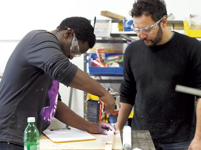 Ali Hussein (left) and Elliott Katz - COURTESY OF GENERATOR
