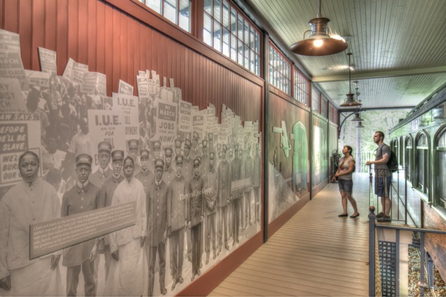 """The """"Many Voices"""" exhibit at Hildene, the Lincoln Family Home - COURTESY OF HILDENE, THE LINCOLN FAMILY HOME"""