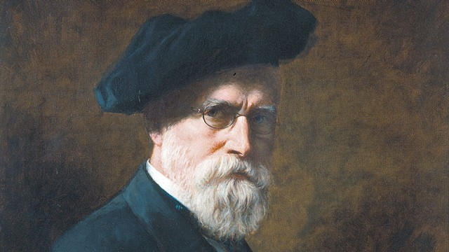 """Self-Portrait"" by T.W. Wood, 1894 - COURTESY"