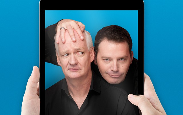 Colin Mochrie and Brad Sherwood - COURTESY OF MILLS ENTERTAINMENT