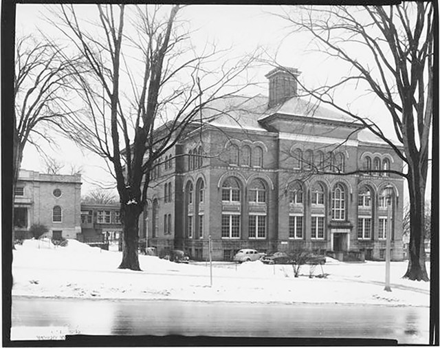 Edmunds High School, circa 1951 - COURTESY OF UNIVERSITY OF VERMONT SPECIAL COLLECTIONS