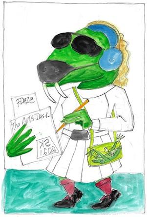 """7 Daze - The Arts Desk"" by Sam Kerson - COURTESY OF SAM KERSON"