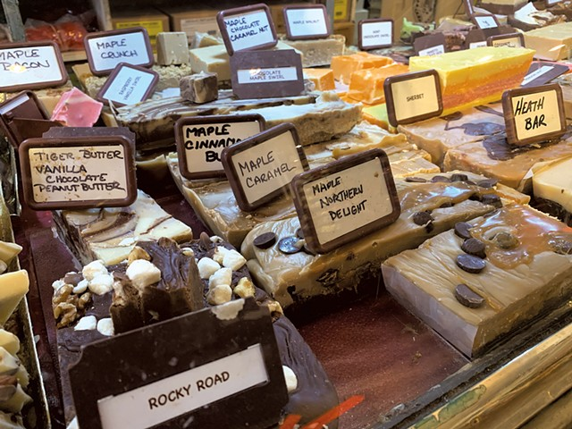 Fudge from the Shelburne Country Store - MELISSA PASANEN