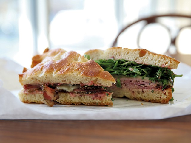 Sandwich from AR Market - COURTESY OF SHANNON ALEXANDER