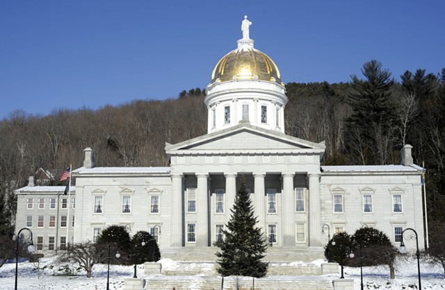 Vermont Statehouse - JEB WALLACE-BRODEUR