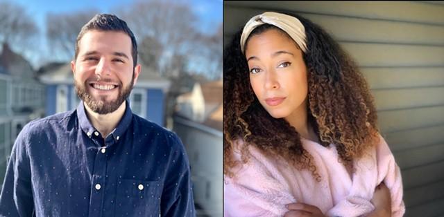 Josh Crane (left) and Myra Flynn - COURTESY OF JOSH CRANE AND MYRA FLYNN