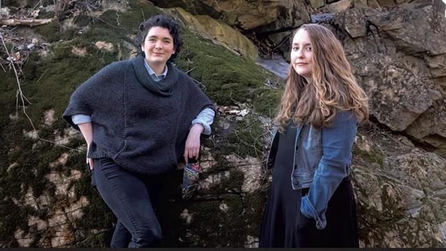 Jane Adams (left) and Alexa Woodward - LUKE AWTRY