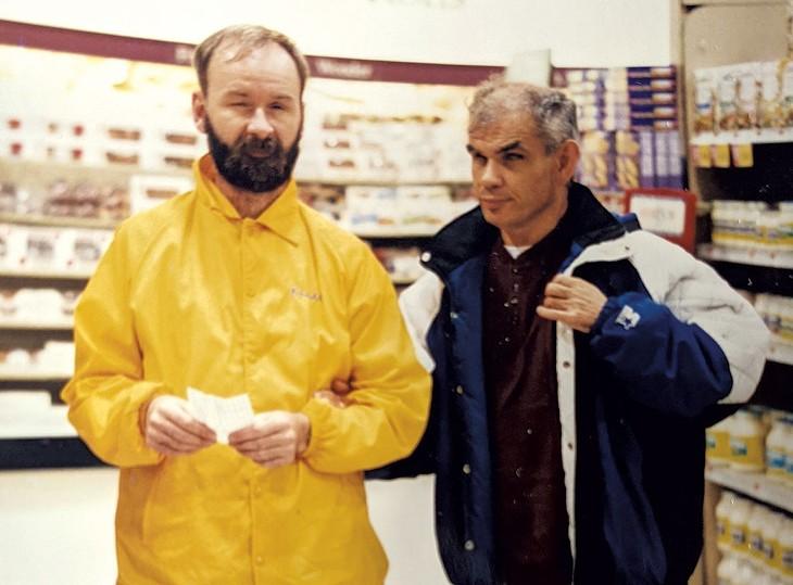 Randall McMorris (right) - COURTESY OF PAT MIGNONE