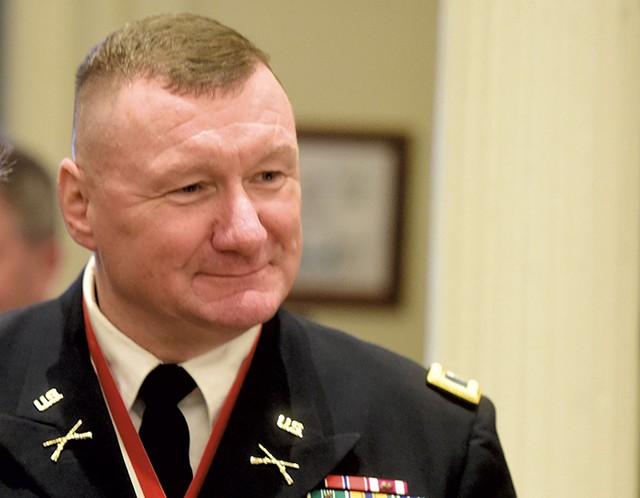 Adj. Gen. Greg Knight - FILE: JEB WALLACE-BRODEUR