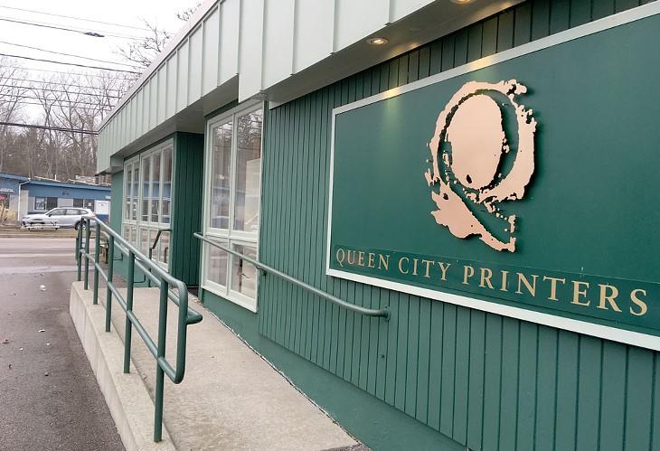 Queen City Printers, 701 Pine St., Burlington - PAULA ROUTLY ©️ SEVEN DAYS