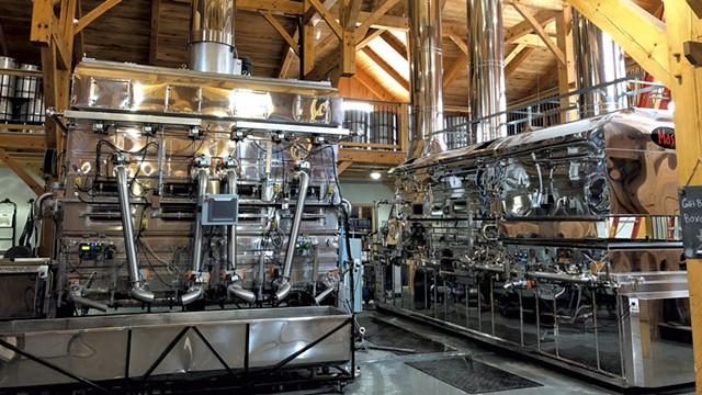 Steam evaporator - ANNE WALLACE ALLEN ©️ SEVEN DAYS