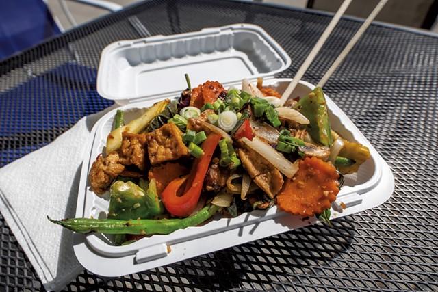 Pho Hong's No. 15 with tofu - LUKE AWTRY