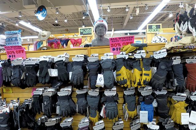 Discounted winter wear at Outdoor Gear Exchange in Burlington - MATTHEW THORSEN