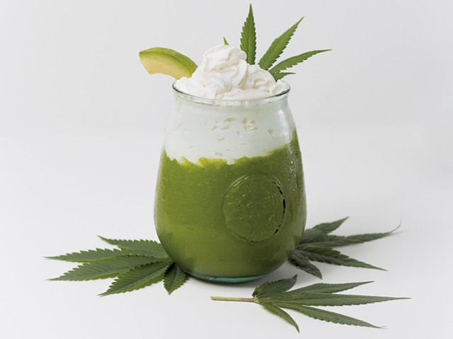 Green Goddess Café Jamaican Me Shake - COURTESY OF BRENT HARREWYN