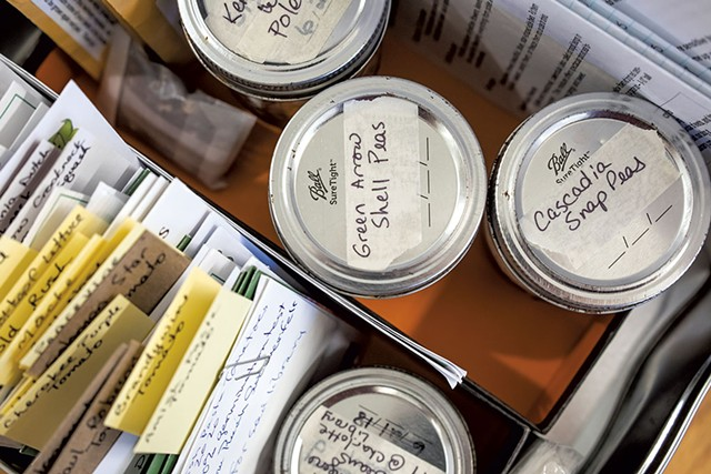 Items in the seed library - LUKE AWTRY