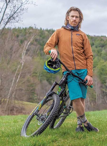 Nick Bennette, executive director of the nonprofit Vermont Mountain Bike Association - LUKE AWTRY