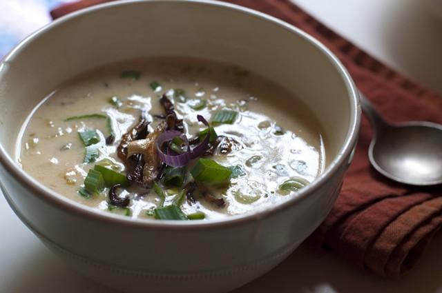 Cheddar-ale soup - HANNAH PALMER EGAN