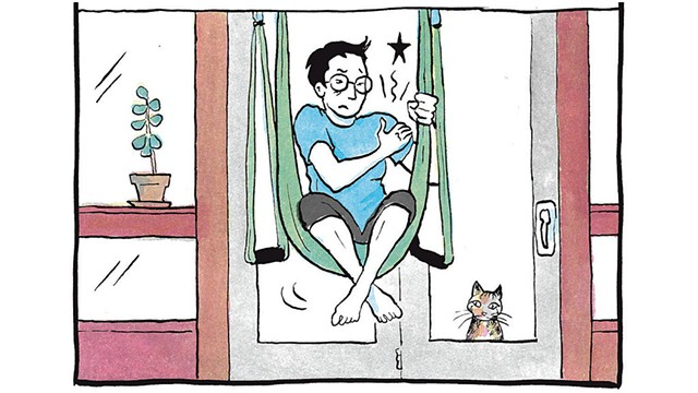 From The Secret to Superhuman Strength - COURTESY OF ALISON BECHDEL
