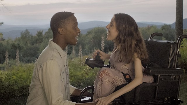 SUMMER LOVING Wilson and DeVido play starry-eyed teens in Zeno Mountain Farm's Vermont-shot musical. - COURTESY OF FREESTYLE DIGITAL MEDIA