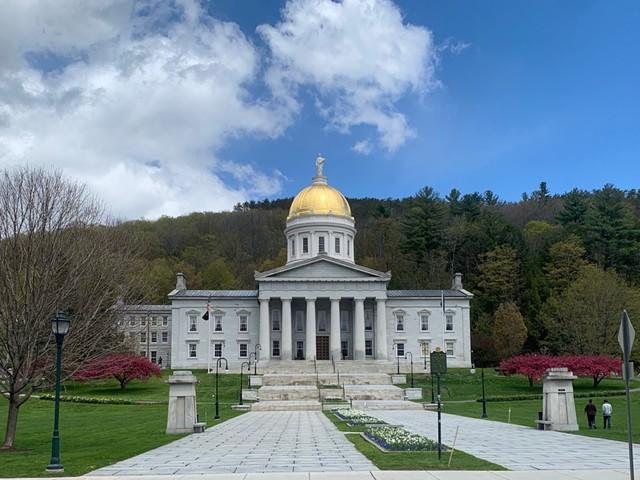 Vermont Statehouse - JAMES ALLEN