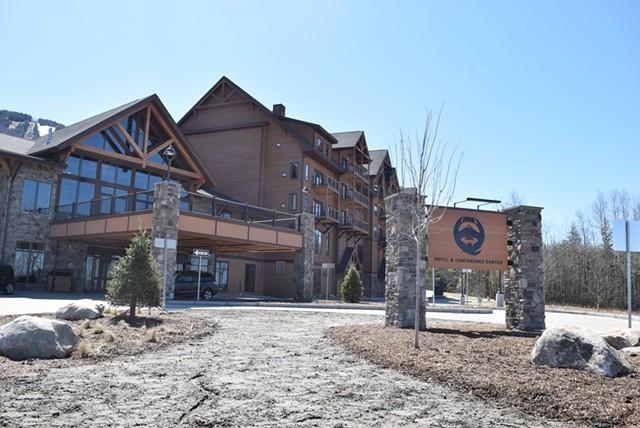 Q Burke Hotel & Conference Center on Thursday - TERRI HALLENBECK