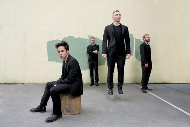JACK Quartet - COURTESY OF BEOWULF SHEEHAN