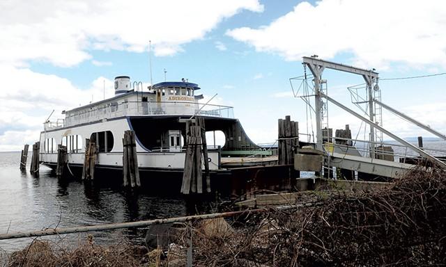 The Adirondack in Port Kent, N.Y. - ROB FOUNTAIN