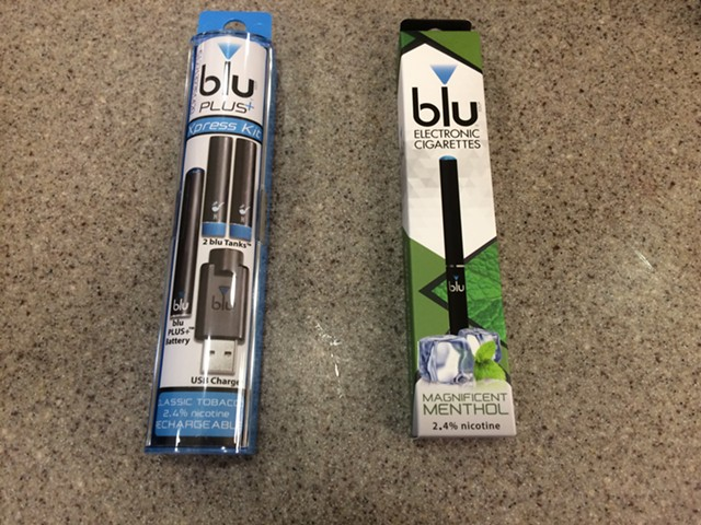 A Senate committee voted to restrict the use of electronic cigarettes. - NANCY REMSEN