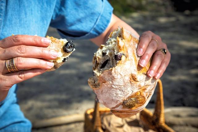 O Bread Bakery olive ciabatta - JORDAN BARRY ©️ SEVEN DAYS