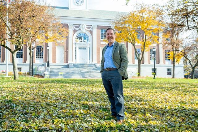 City Councilor Brian Pine - FILE: COURTESY OF KAREN PIKE