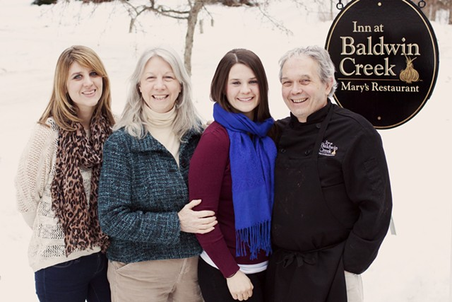 Doug Mack and Linda Harmon with their daughters Martha (left) and Laura (right) - COURTESY OF EMILY GILBERT