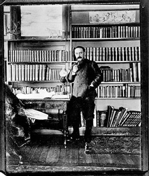 Rudyard Kipling in his study - COURTESY OF LANDMARK TRUST USA