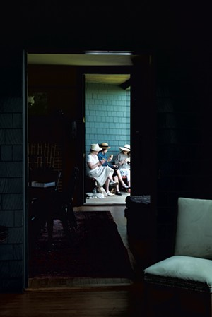 Porch at Naulakha - COURTESY OF KELLY FLETCHER PHOTOGRAPHY