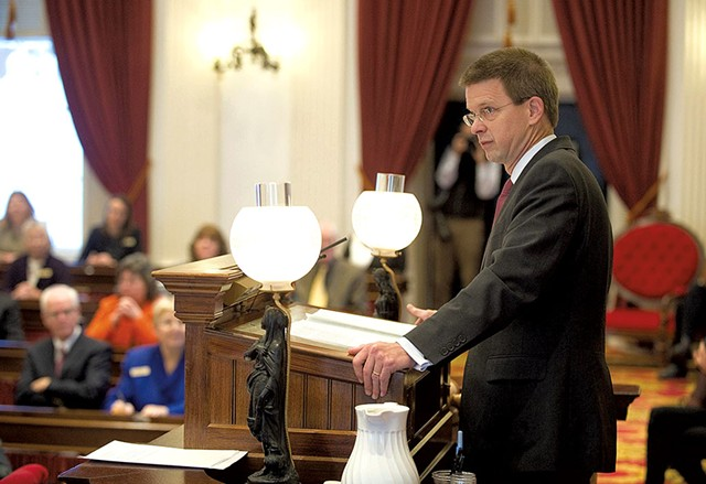House Speaker Shap Smith - COURTESY OF JEB WALLACE-BRODEUR