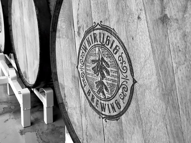 A Whirligig barrel - PHOTOS COURTESY OF GEOFFREY SEWAKE