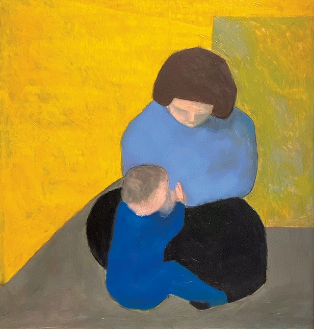 """""""Mother and Child""""  by Marc Awodey - COURTESY OF STUDIO PLACE ARTS"""