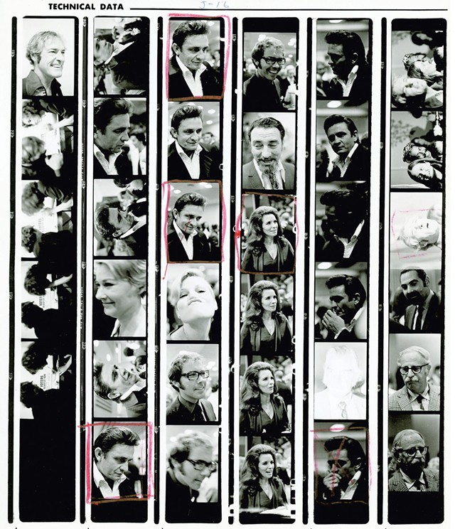 Johnny Cash, June Carter Cash, Lee Marvin and others - COURTESY OF TAMARA NICOLAI
