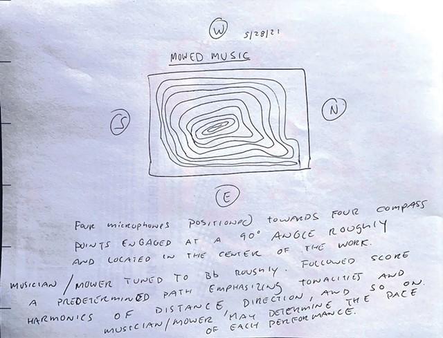 MOWED MUSIC album art - COURTESY OF GLENN WEYANT