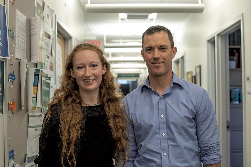 Carolyn Marquis and Dr. Jason Stumpff - LUKE AWTRY